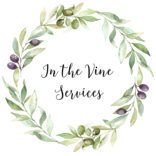 Spokane logo designer, water color logo designer, water color flowers logo design, the birth garden