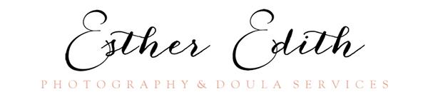 E s t h e r   E d i t h  Photographer and Doula, Maternity, Birth, Newborn, and Motherhood Photography and Doula Services in Spokane Washington, and Coeur d'Alene Idaho logo