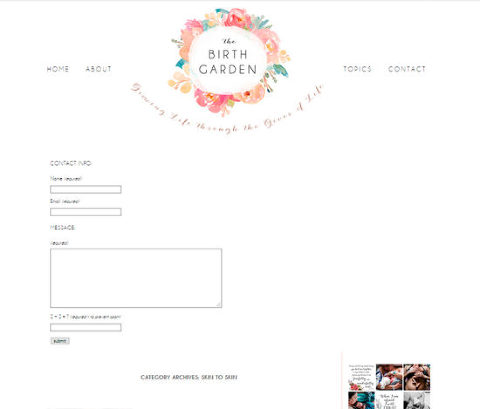 website design spokane, water color minimalistic website design, simple website design, best website designs