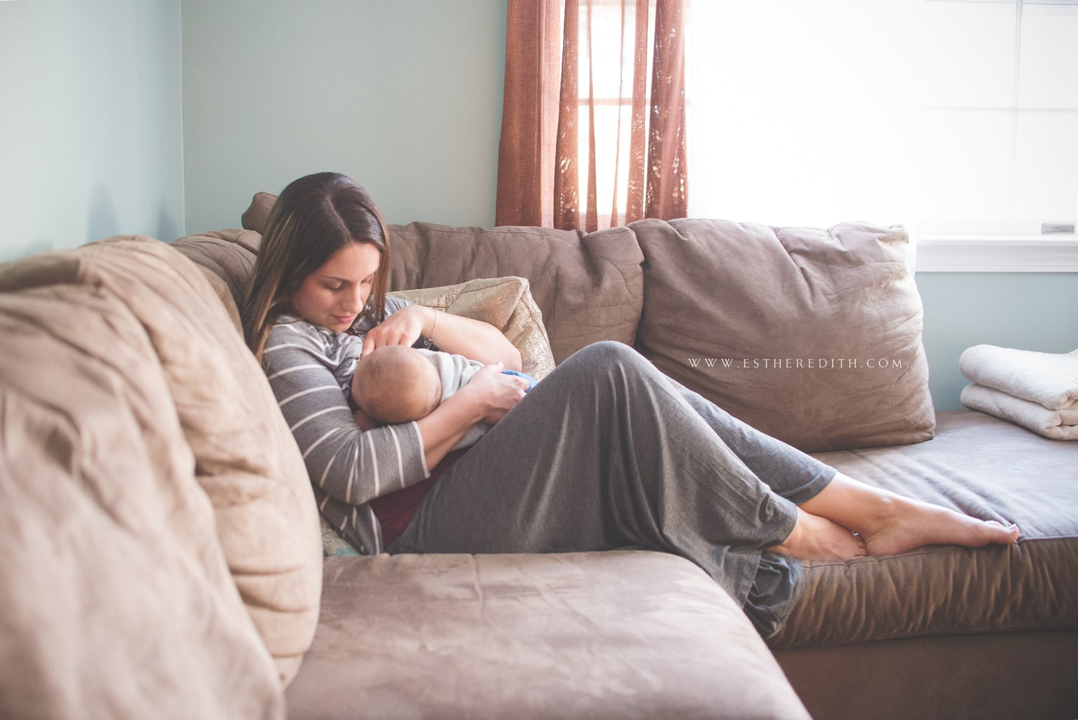 Breastfeeding Photography Spokane Wa Katie Amp Her Little