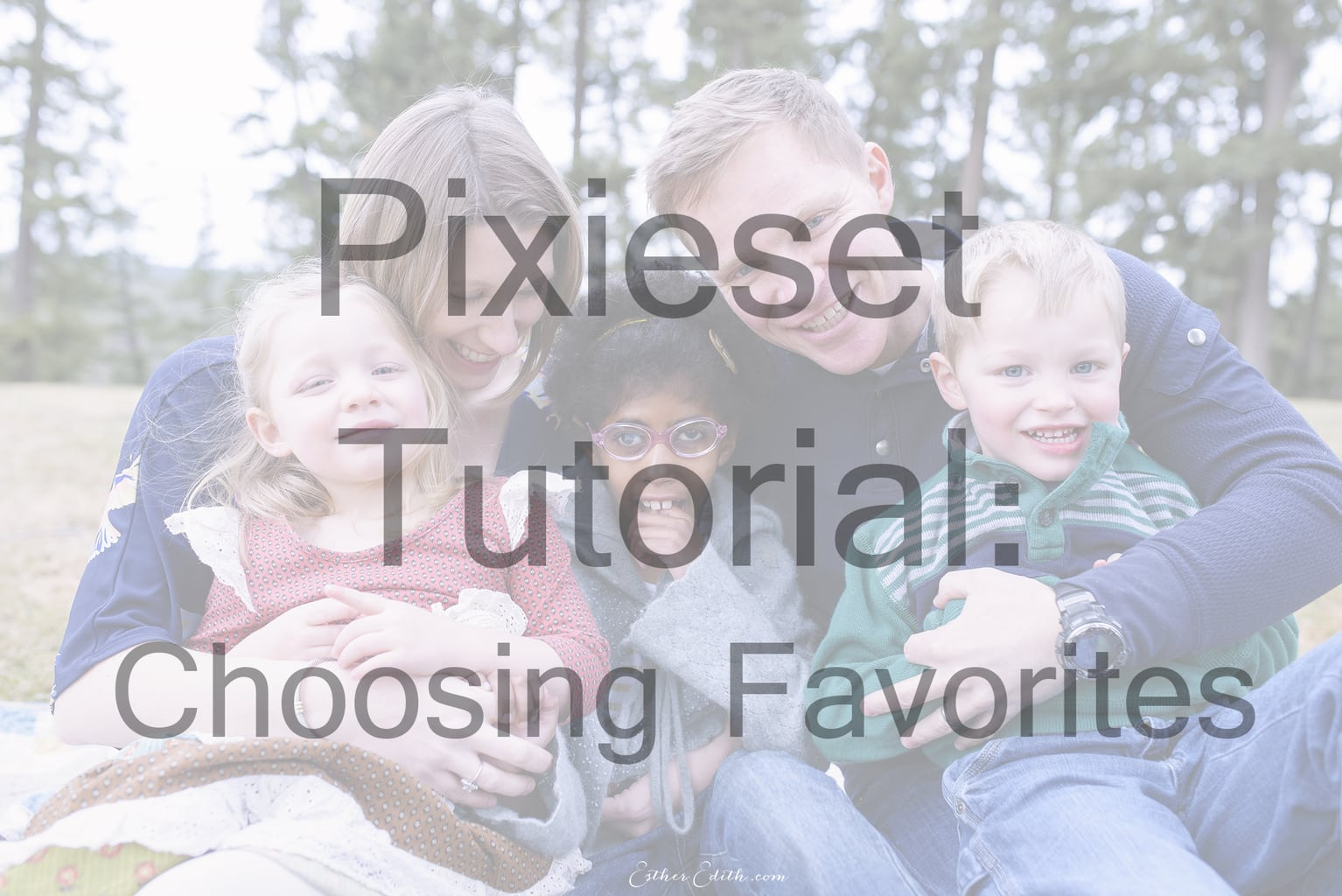 How To Choose Your Favorites In A Pixieset Gallery E S T